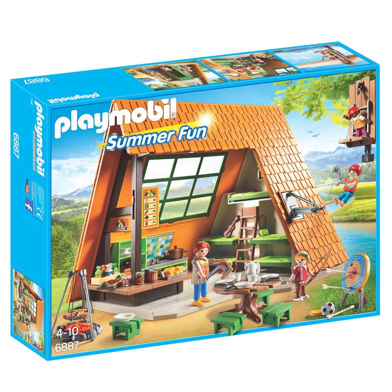 Cabaña de Campamento Playmobil Summer Fun