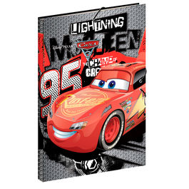 Cars Disney Fast A4 folder with flaps