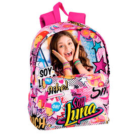 Mochila Soy Luna Disney Surprise 42cm adaptable