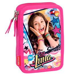 Plumier Soy Luna Disney Surprise triple