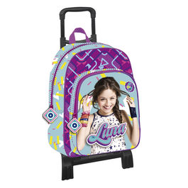 Mochila trolley Soy Luna Disney Abstract 43cm