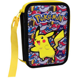 Plumier Pokemon Pikachu doble
