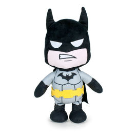 Batman DC grey toy plush 35cm