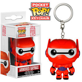 Llavero Pocket POP! Disney Big Hero 6 Baymax