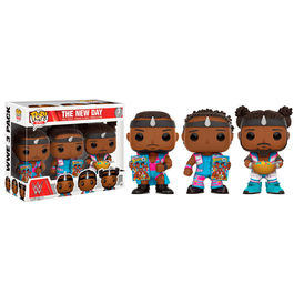 Pack 3 figuras Vinyl POP! WWE The New Day