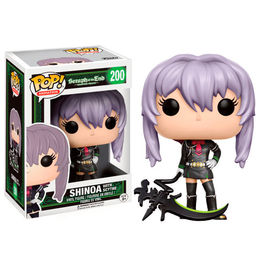 Figura Vinyl POP! Seraph of the End Shinoa Scythe