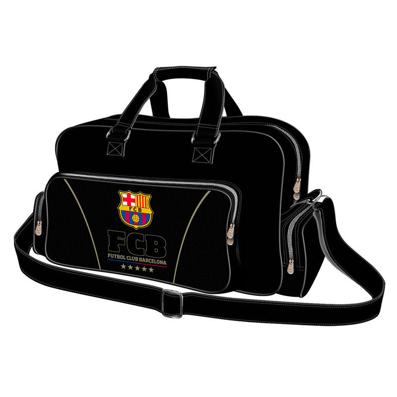 Bolsa viaje FC Barcelona Black 53cm 8435376360144