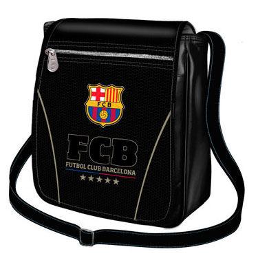 Bandolera FC Barcelona Black vertical 8435376394214