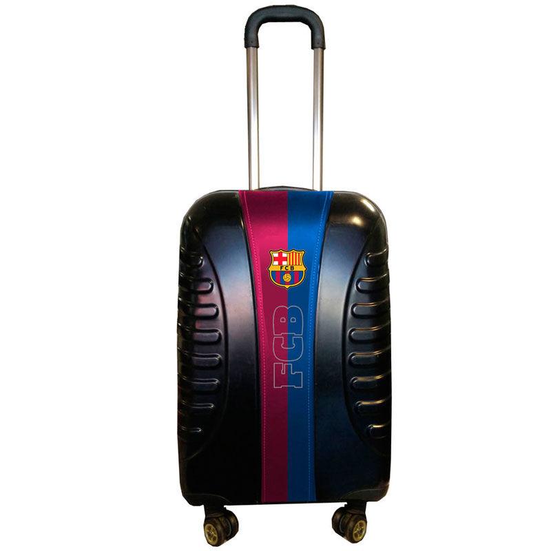 Maleta trolley ABS FC Barcelona Black 4r 65cm 8435376360106