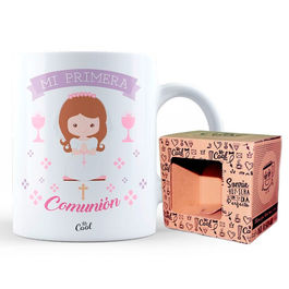 My first Communion girl mug