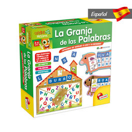 Spanish The Farm of Words game