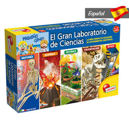 Spanish The Great Science Laboratory game