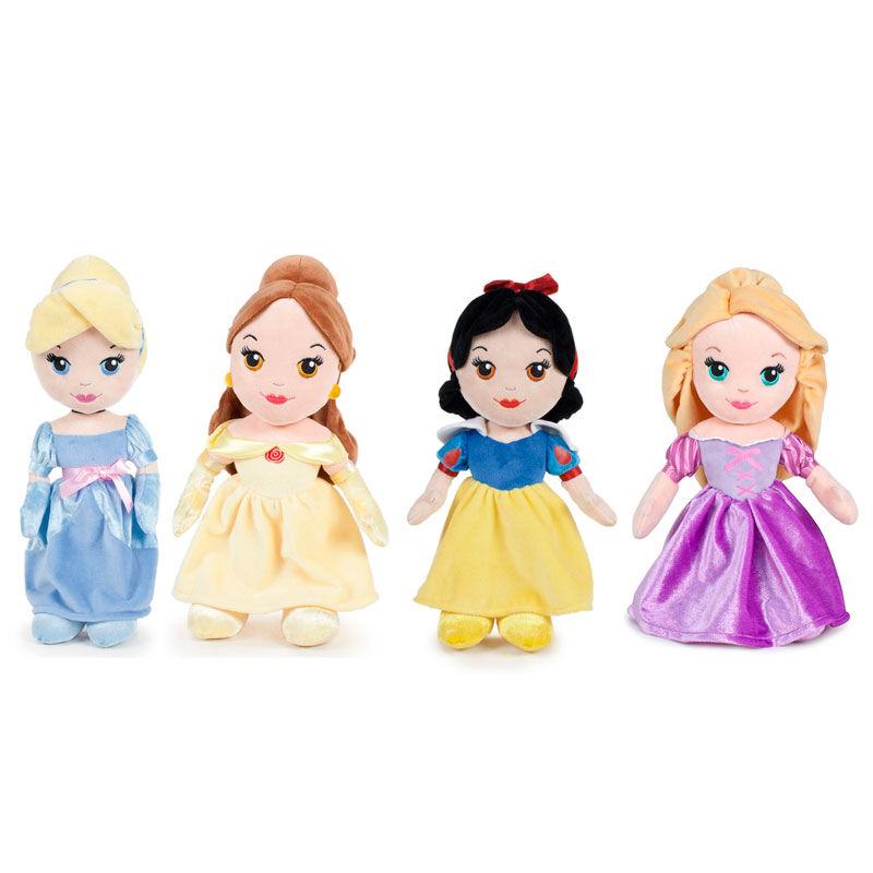 Peluche Princesas Disney soft 30cm surtido 8410779042620263726442651
