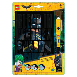 Agenda + boligrafo invisible Lego Batman