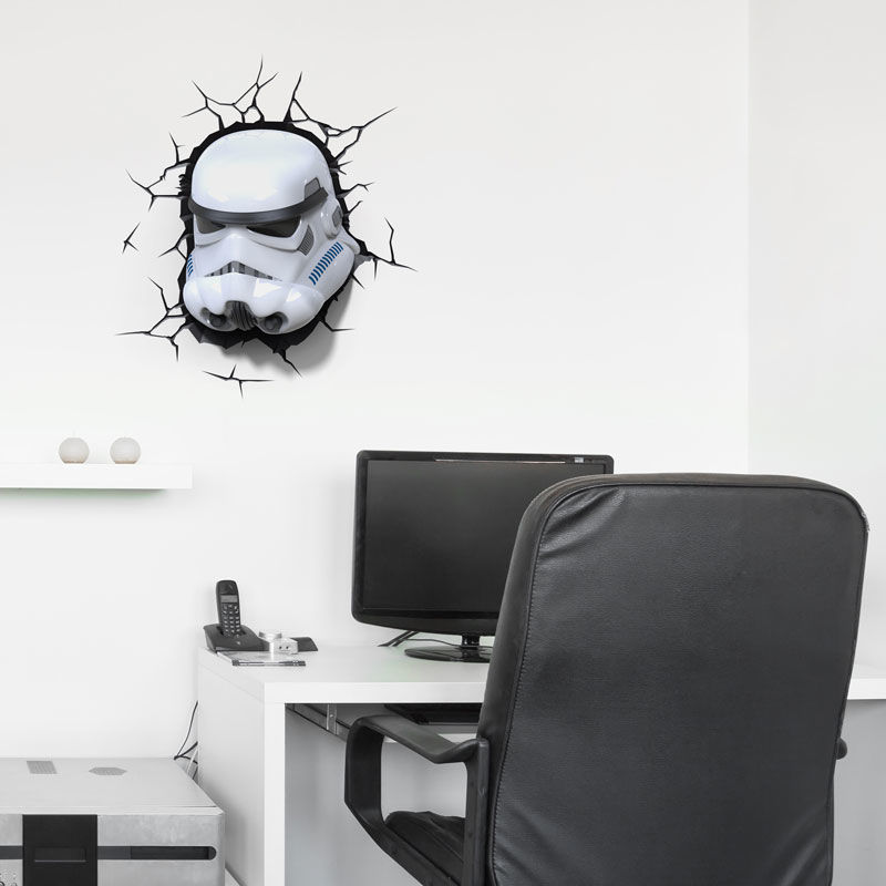 Lampara led 3D pared Stormtrooper Star Wars (1)