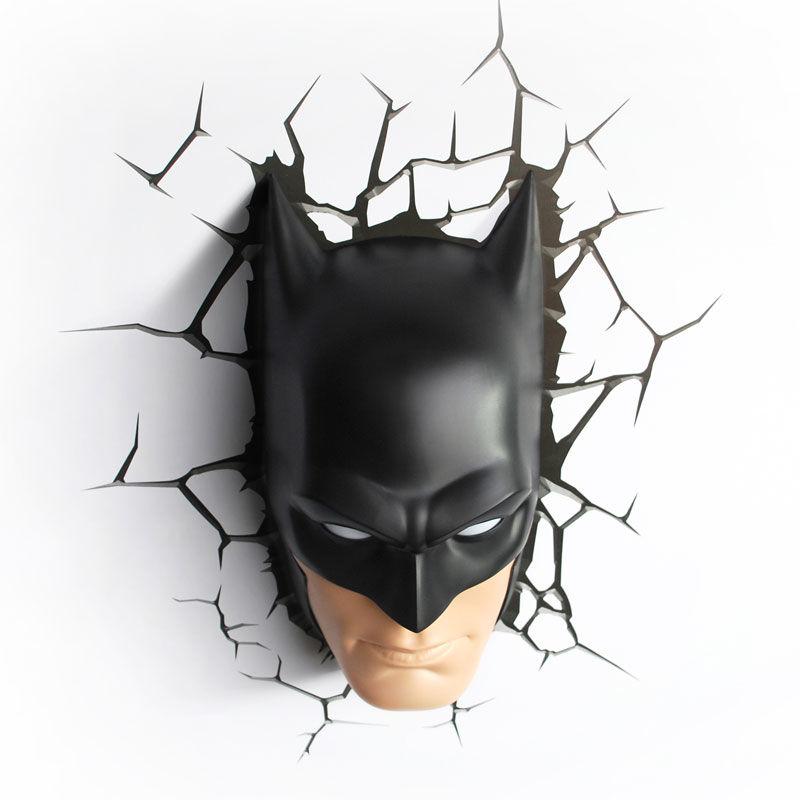 Comics batman mask 3d led wall light dc comics batman mask 3d led wall light mozeypictures Images