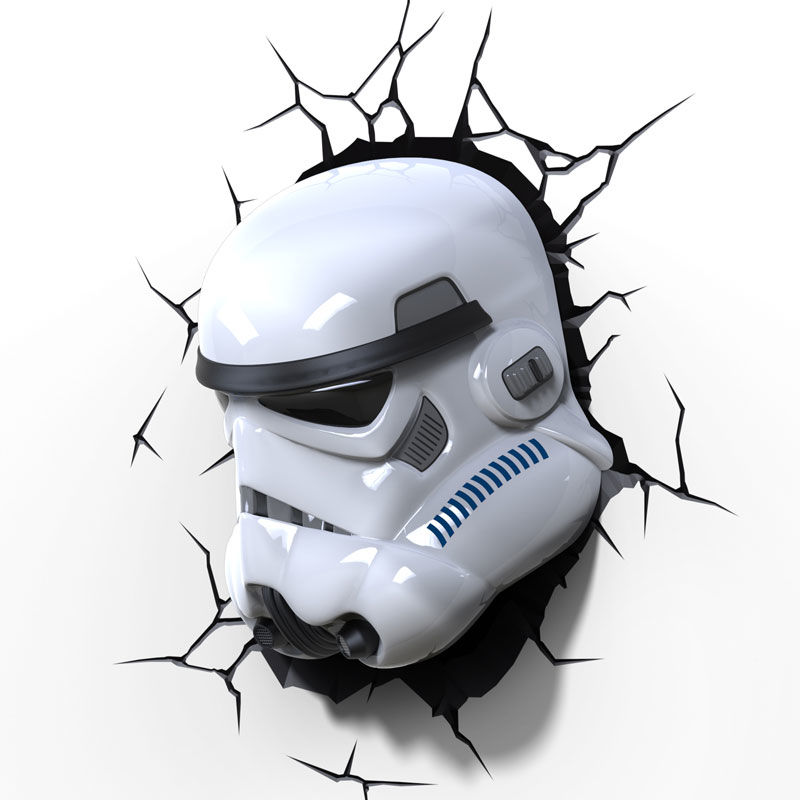 Lampara led 3D pared Stormtrooper Star Wars (4)