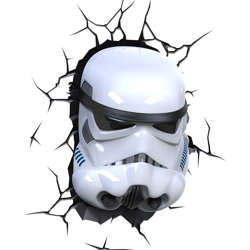 Lampara led 3D pared Stormtrooper Star Wars (5)