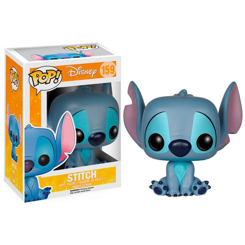 Funko POP o Figura POP Disney Lilo y Sticj Stitch Sentado