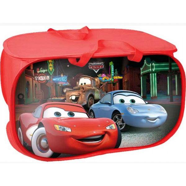 Guarda Juguetes Baño:Baul guarda juguetes Rayo McQueen Cars Disney – OcioStock