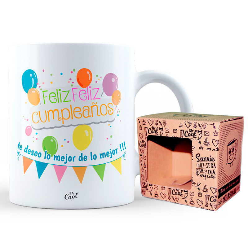 Taza Feliz Cumpleaños 8436571070746