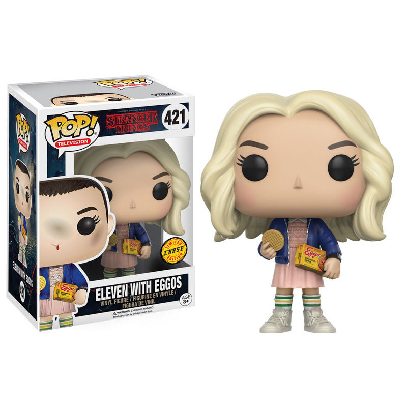 Funko POP o Figura POP Stranger Things Eleven (Once) with Eggos Chase