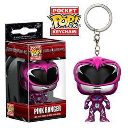 Llavero Pocket POP! Power Rangers Pink Ranger