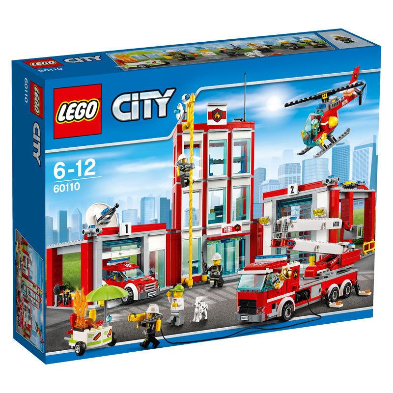 de bomberos Lego City