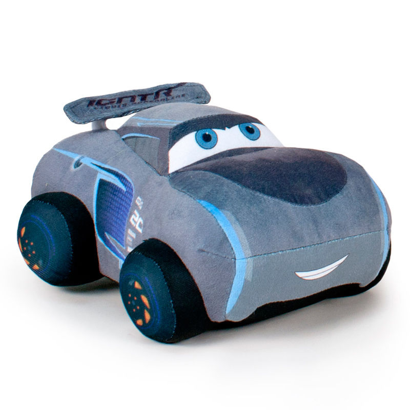 Disney cars 3 jackson storm soft plush toy 25cm for Three jackson toy