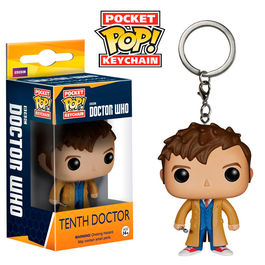 Llavero Pocket POP! Doctor Who 10th Doctor