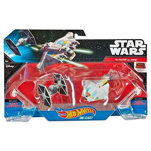 Blister The Fighter vs Ghost Star Wars Hot Wheels