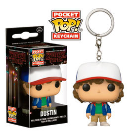 Llavero Pocket POP! Stranger Things Dustin