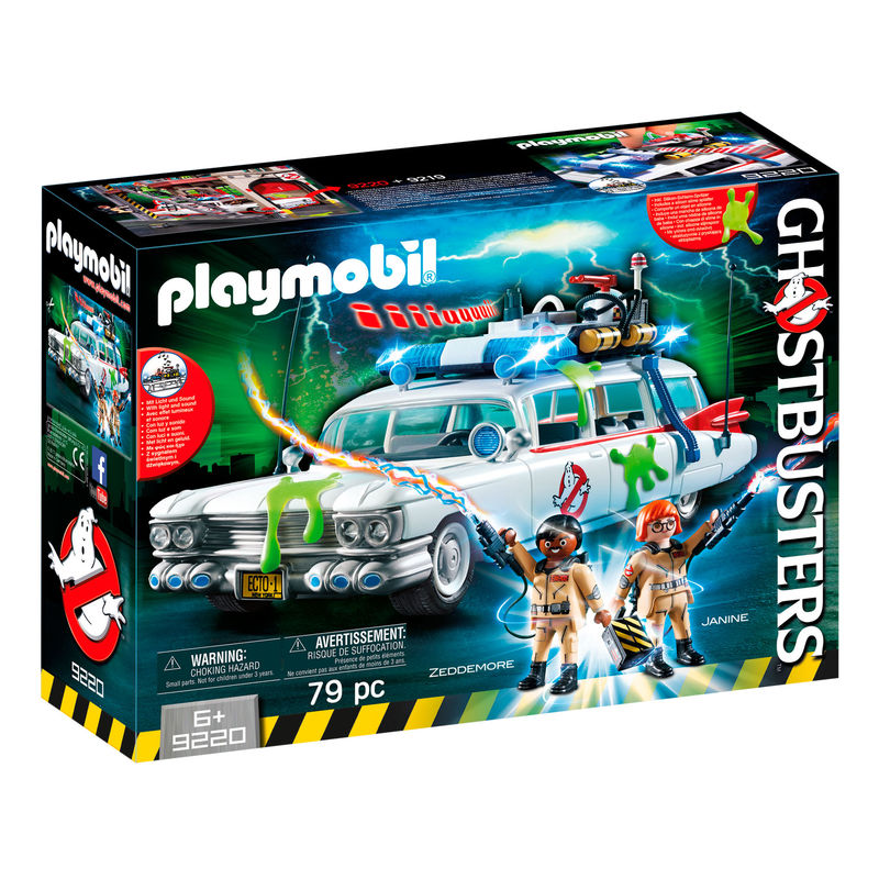 Ecto-1 Ghostbusters Playmobil