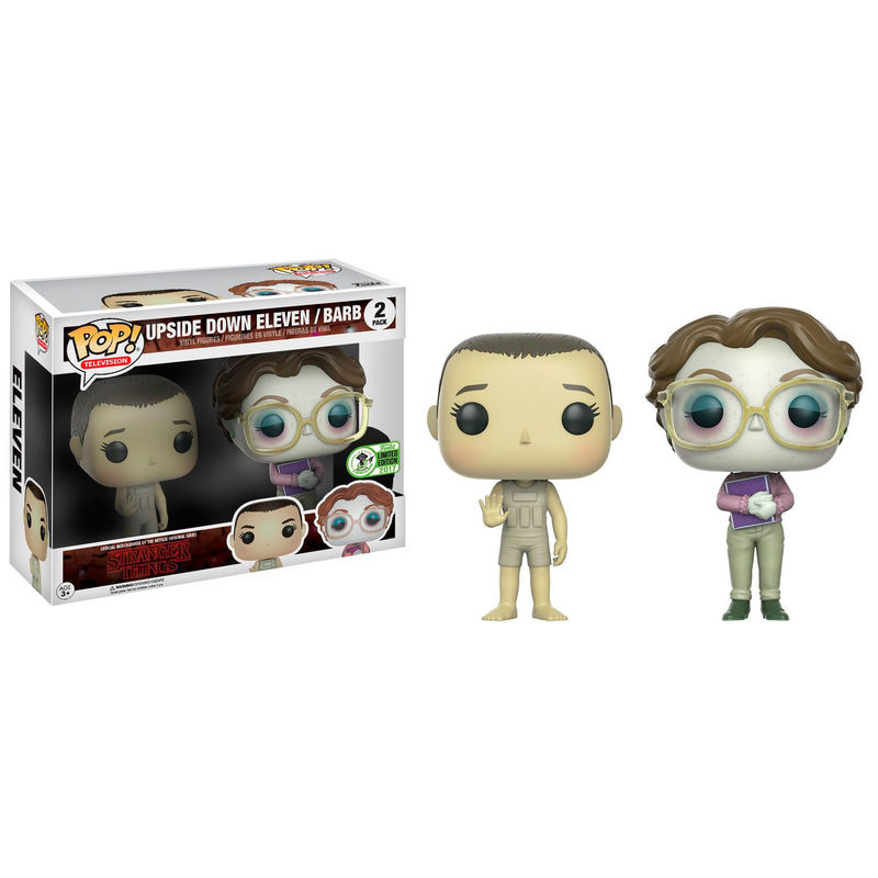 2add0f99e1e POP! pack 2 figures Stranger Things Upside Down Eleven   Barb ECCC 2017  Exclusive