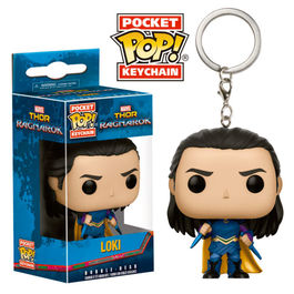 Llavero Pocket POP! Marvel Thor Ragnarok Loki