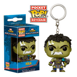 Llavero Pocket POP! Marvel Thor Ragnarok Hulk Gladiator