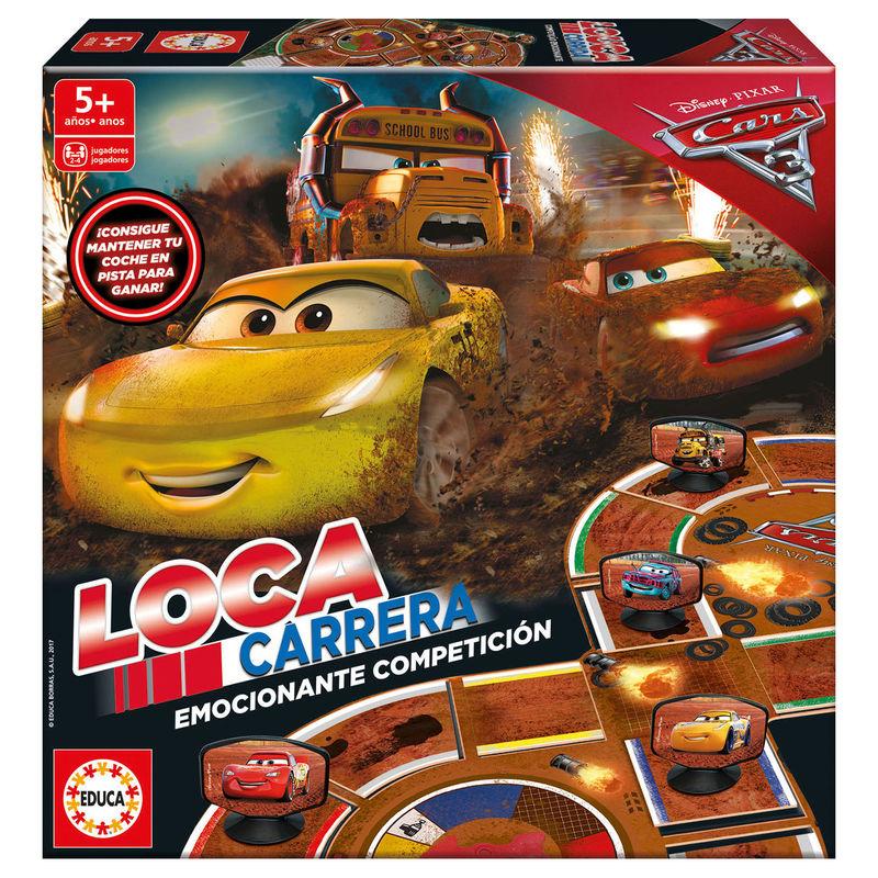 Juego Loca Carrera Cars 3 Disney