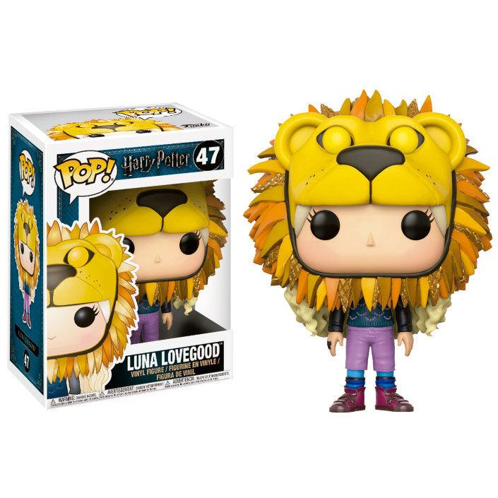 Funko POP o Figura POP Harry Potter Luna Lovegood con cabeza de león