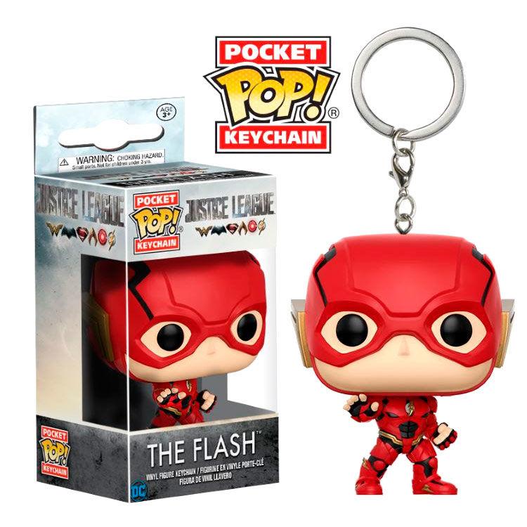 Llavero Pocket POP DC Justice League The Flash