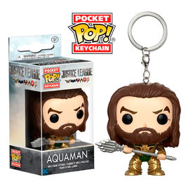 Llavero Pocket POP! DC Justice League Aquaman