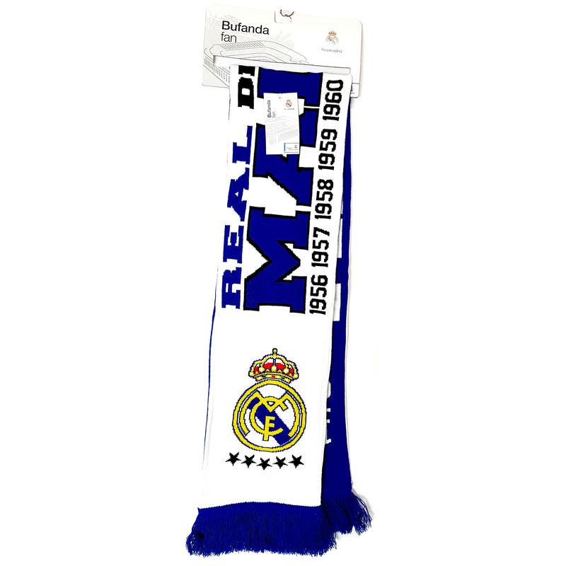Bufanda Fan Real Madrid desde 1902 doble