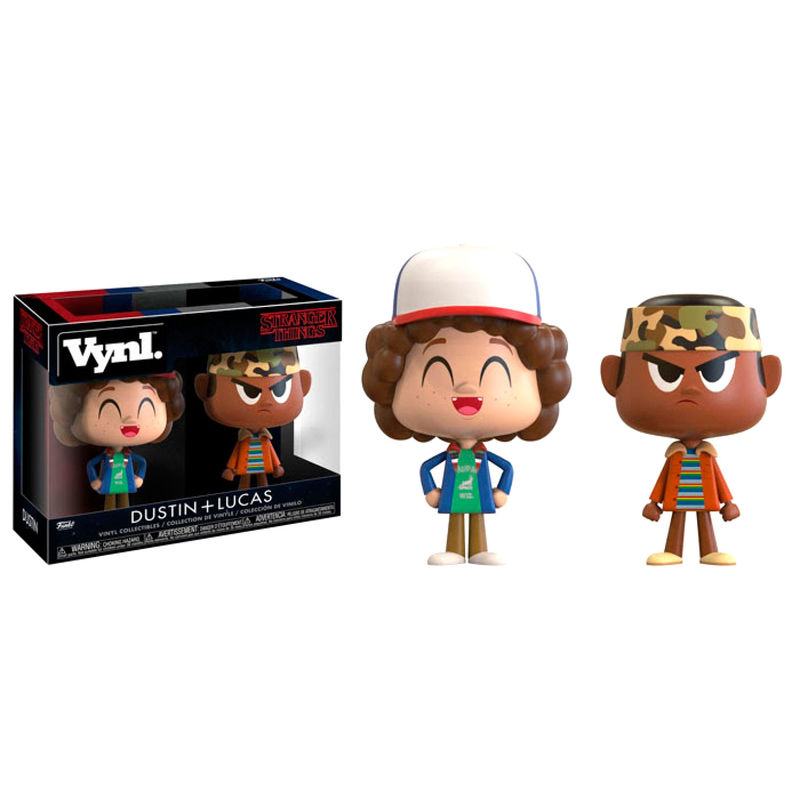 Figuras Vynl Stranger Things Dustin y Lucas