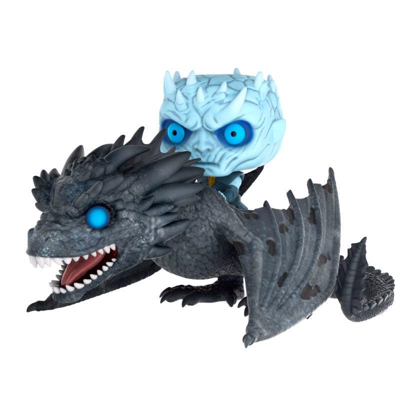 Figura POP Game of Thrones Rey de la Noche sobre Dragon 15cm