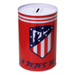 Hucha Atletico Madrid metalica