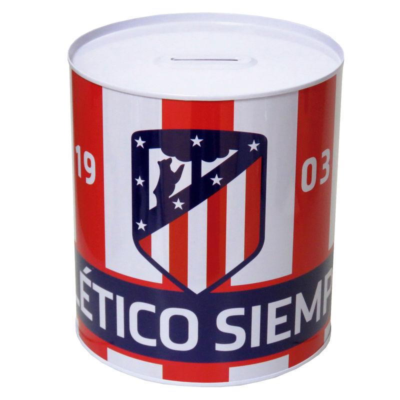 19825d3a49 Hucha Atletico Madrid metalica grande