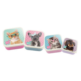 Set 4 tupper en 1 Studio Pets