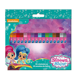 Blister 18 rotuladores Shimmer y Shine
