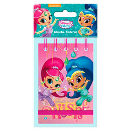Shimmer and Shine A7 notebook