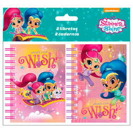 Shimmer and Shine A7 notebook 2pcs