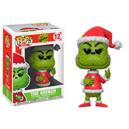 Figura POP The Grinch in Santa Outfit